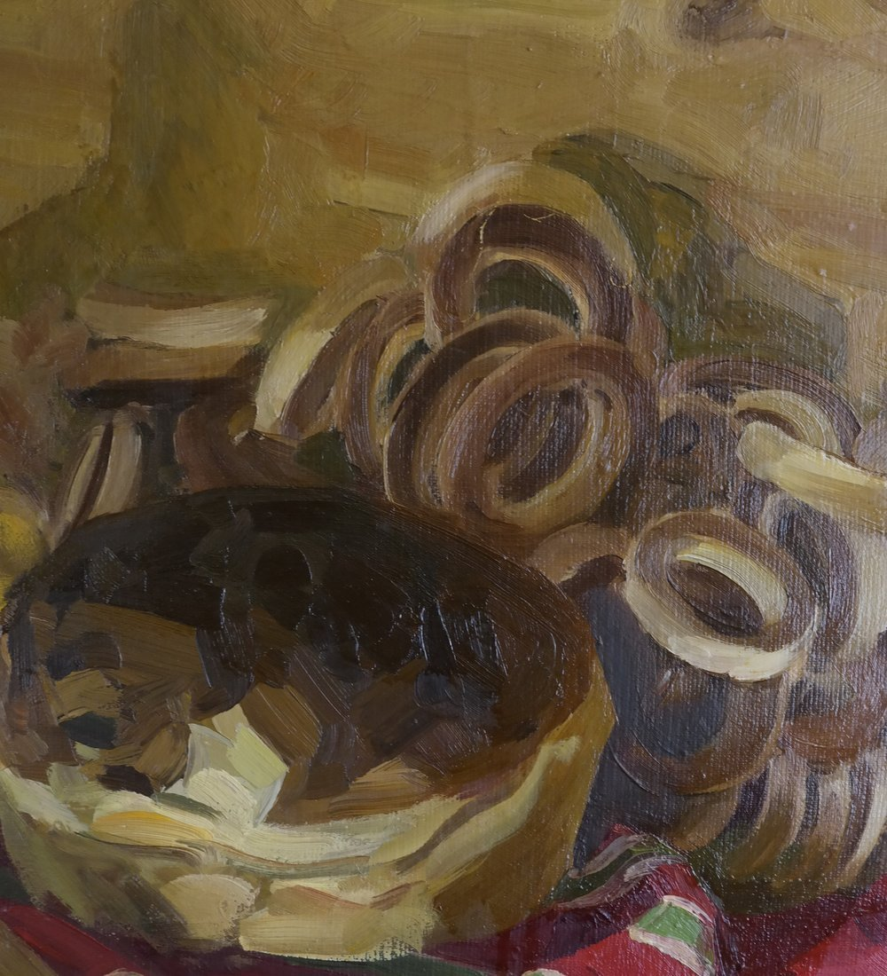 Modern Still Life, Oil On Canvas - 4