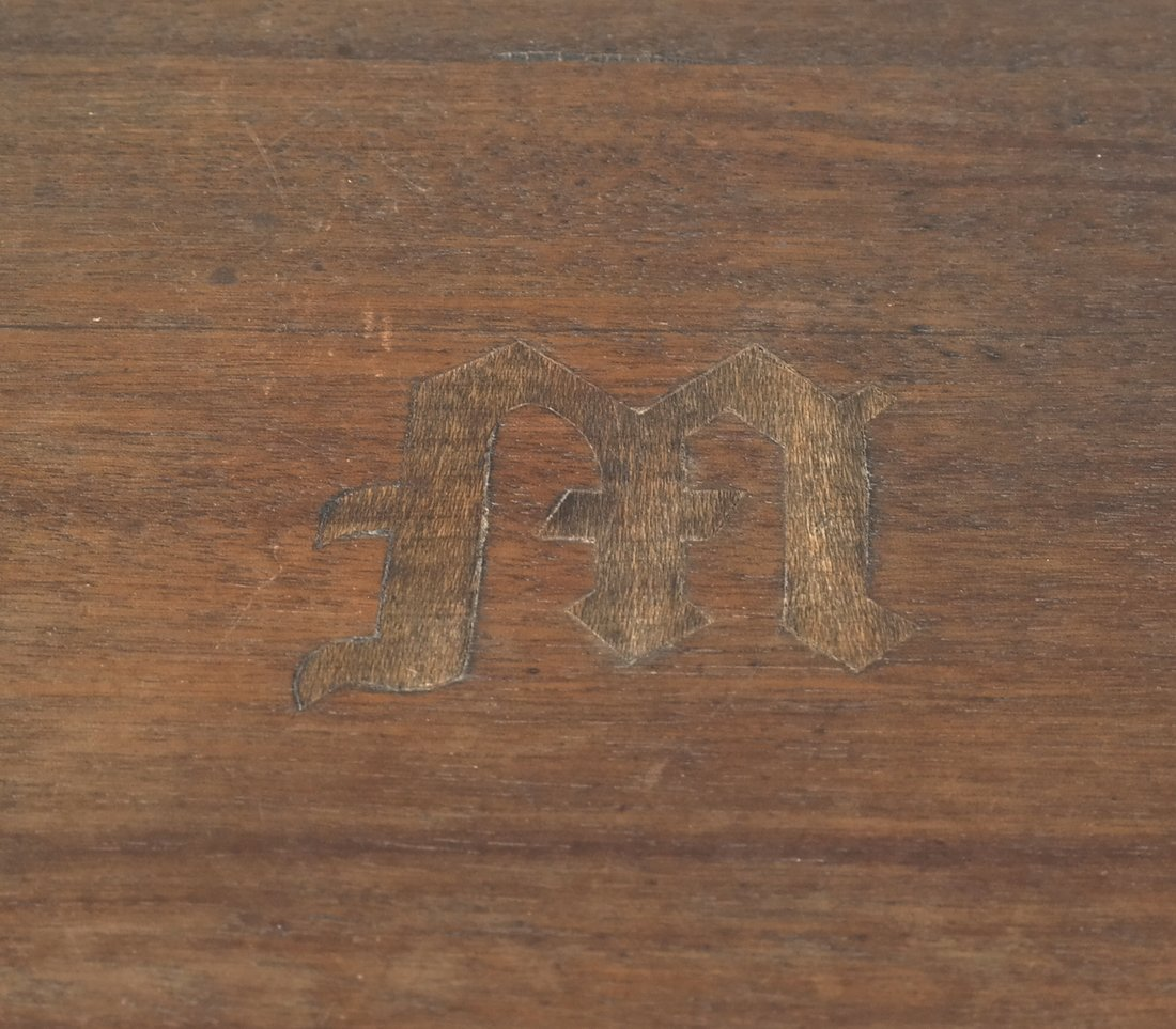 Oak Prohibition Revolving  Pedestal Cabinet - 8