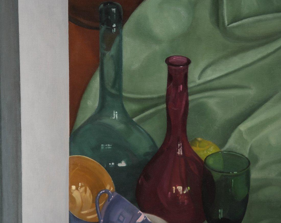 Gilbert Riou, Still Life, Acrylic/Canvas - 4