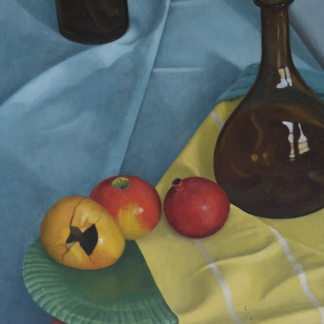 Gilbert Riou, Still Life, Acrylic/Canvas - 5