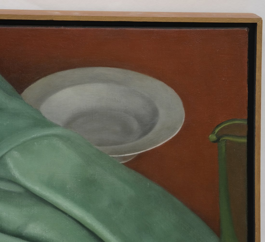 Gilbert Riou, Still Life, Acrylic/Canvas - 6