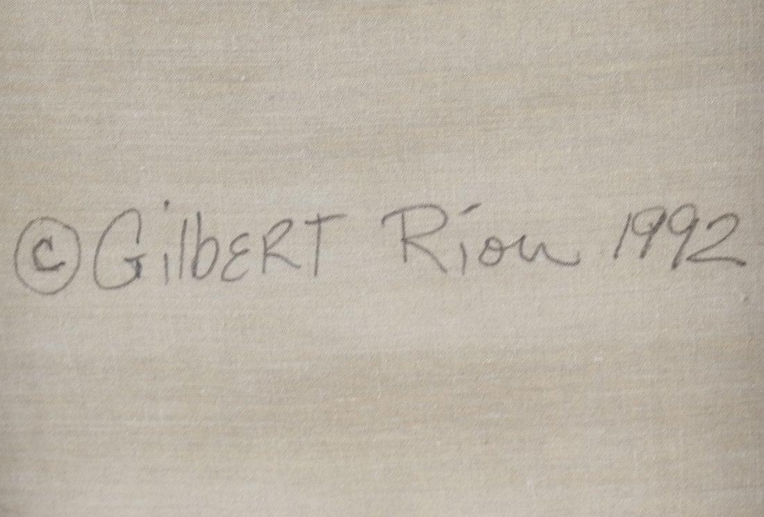 Gilbert Riou, Still Life, Acrylic/Canvas - 9