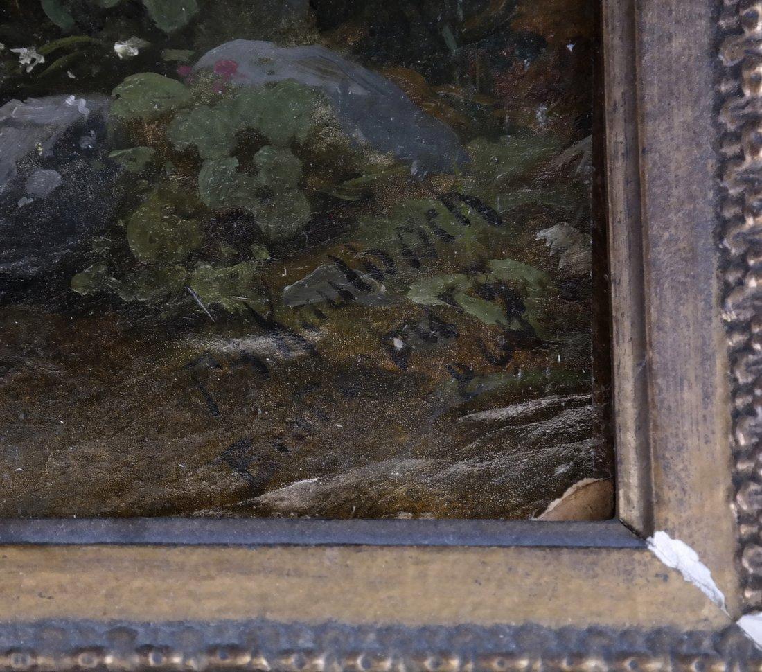 Friedrich Kaulbach, Forest Interior German painting - 3