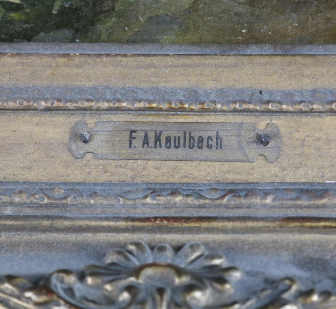 Friedrich Kaulbach, Forest Interior German painting - 4