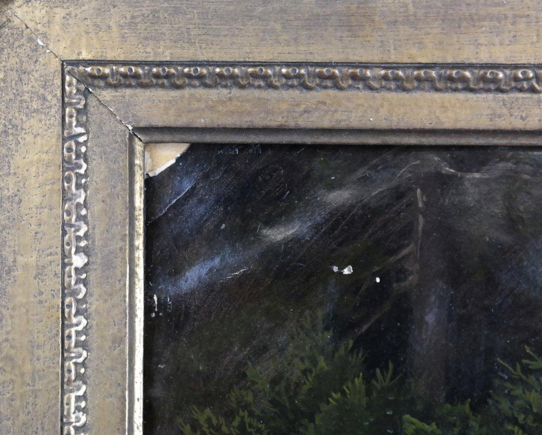 Friedrich Kaulbach, Forest Interior German painting - 6
