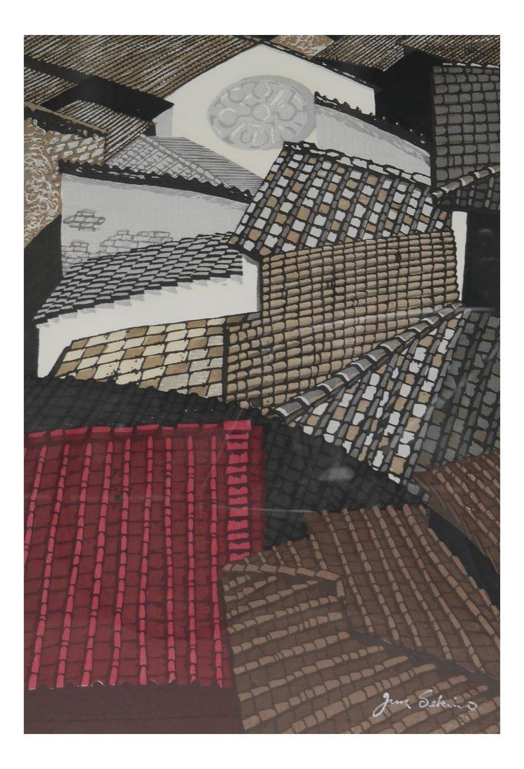 Sekino Junichiro, Woodblock Print