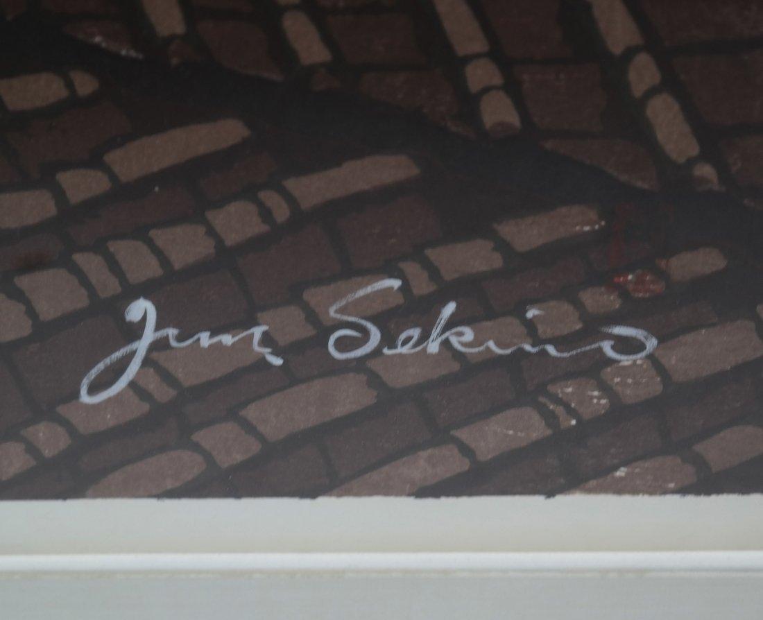 Sekino Junichiro, Woodblock Print - 3