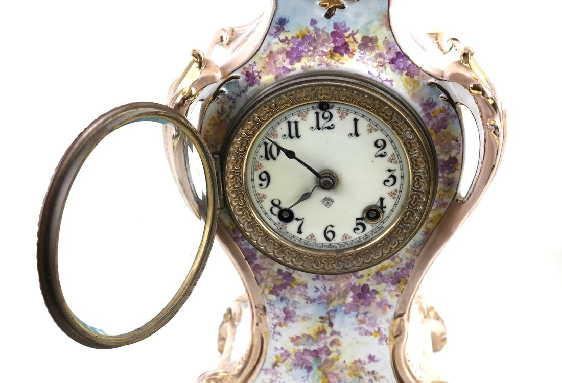 Royal Bonne Mantle Clock - 10