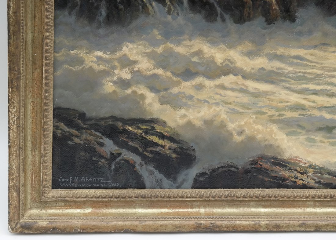 Verra Hull, Seascape, Oil on Canvas - 4
