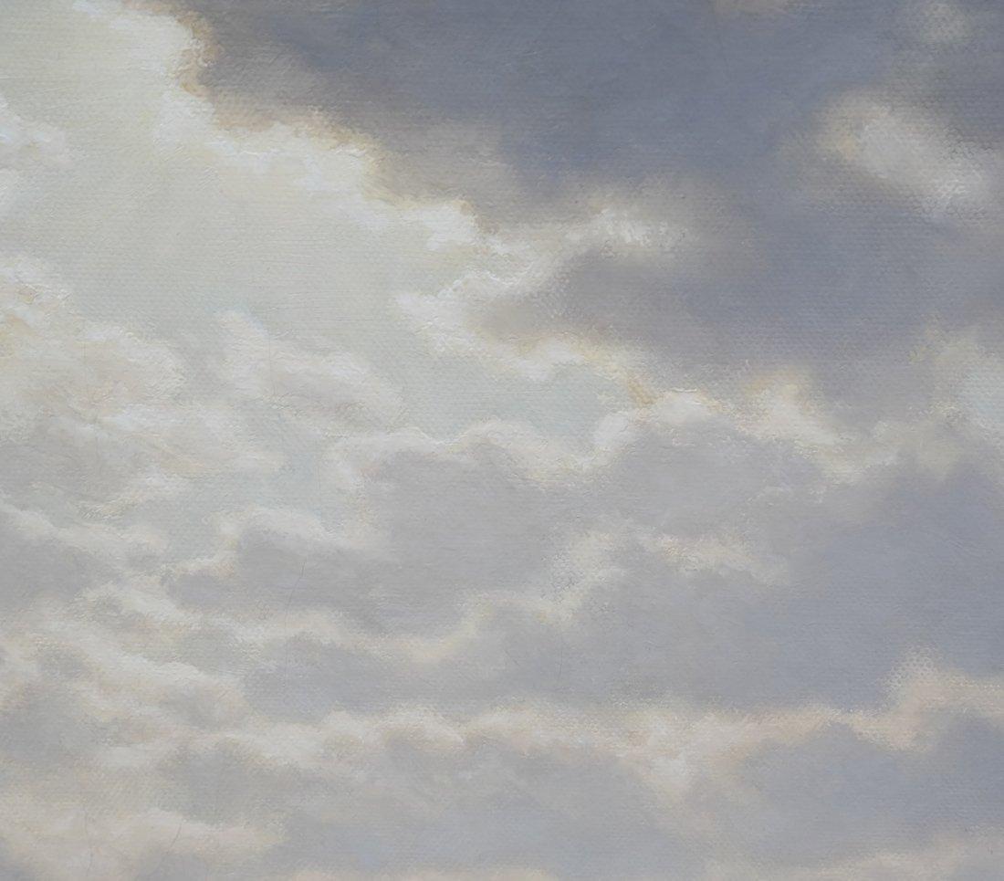 Verra Hull, Seascape, Oil on Canvas - 5