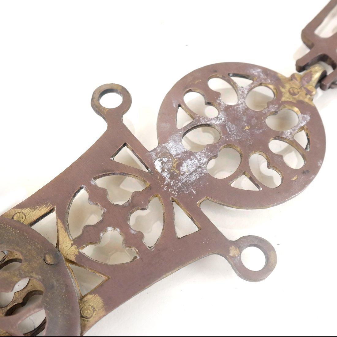 Brass Reticulated Cross - 3