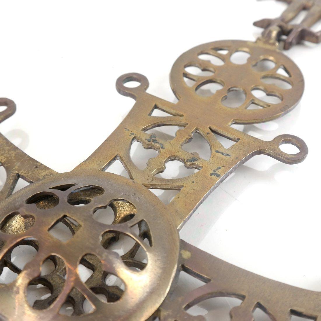 Brass Reticulated Cross - 8