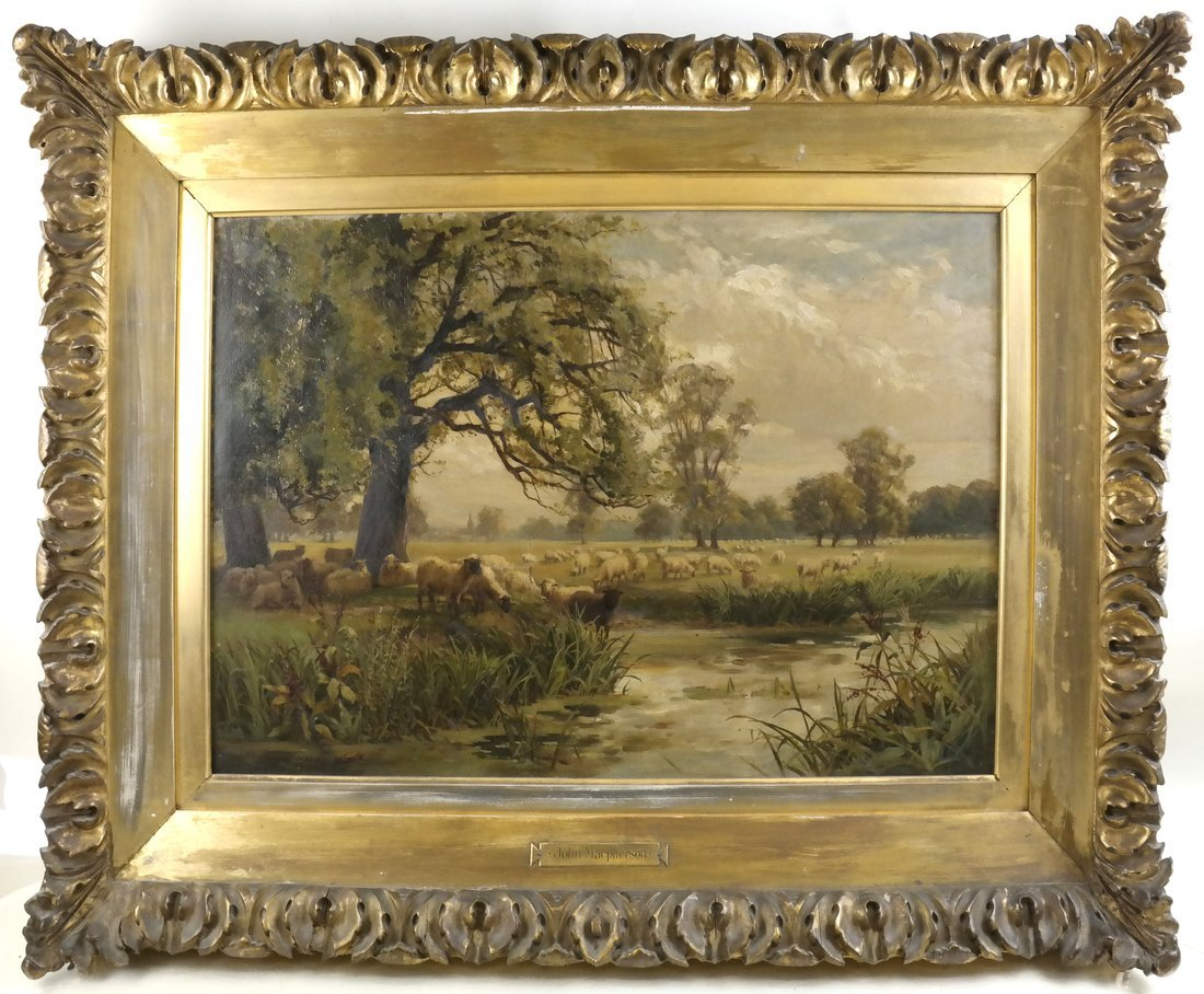 John Macpherson - Landscape with Sheep - 2