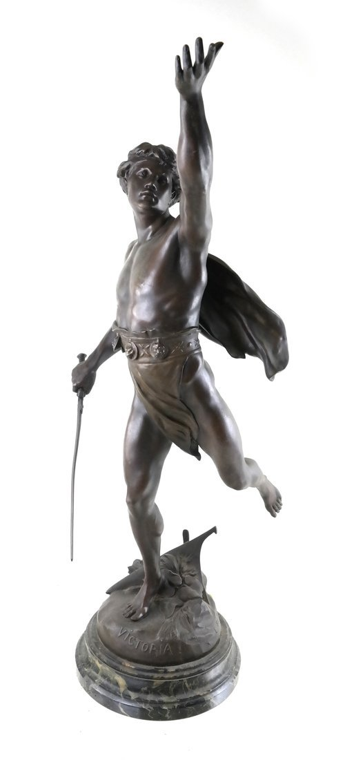 After E. Picault Statue of Victoria
