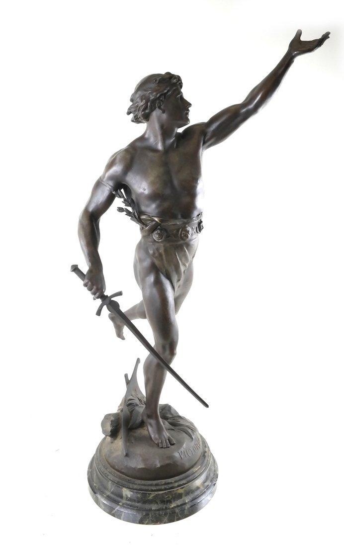 After E. Picault Statue of Victoria - 3