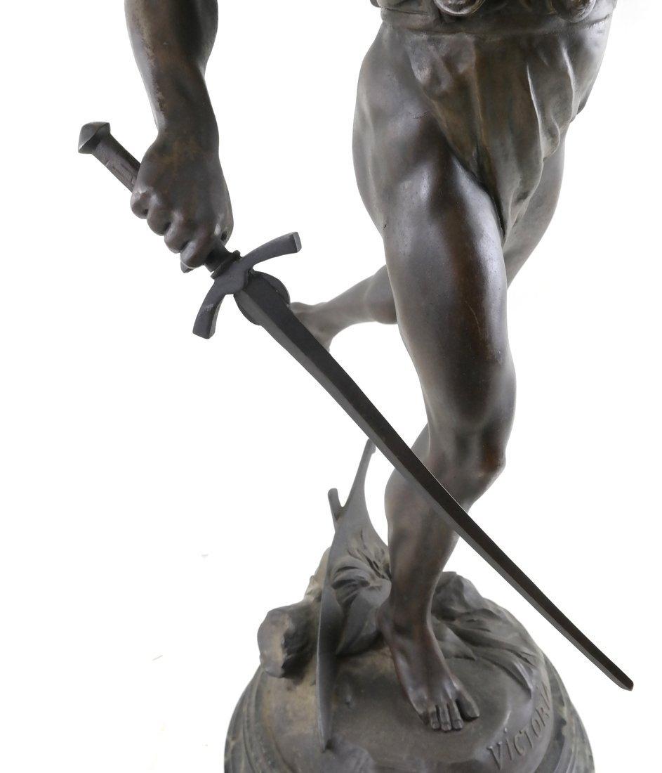 After E. Picault Statue of Victoria - 7