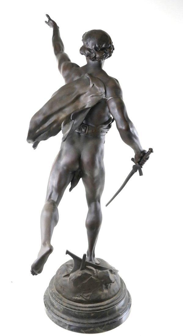After E. Picault Statue of Victoria - 8