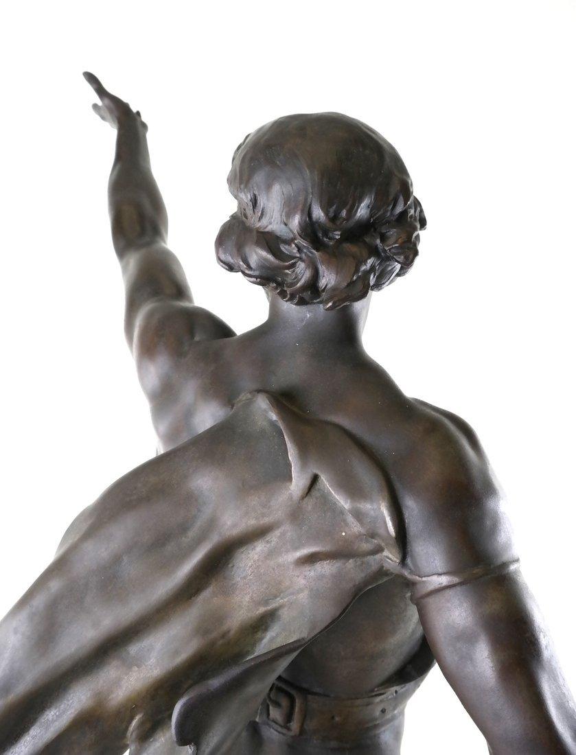 After E. Picault Statue of Victoria - 9