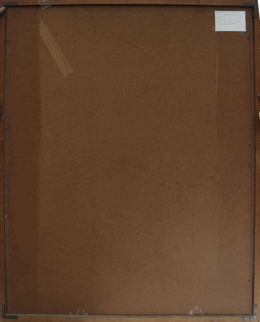 Frank Swartzlander Abstract Oil/Masonite - 5