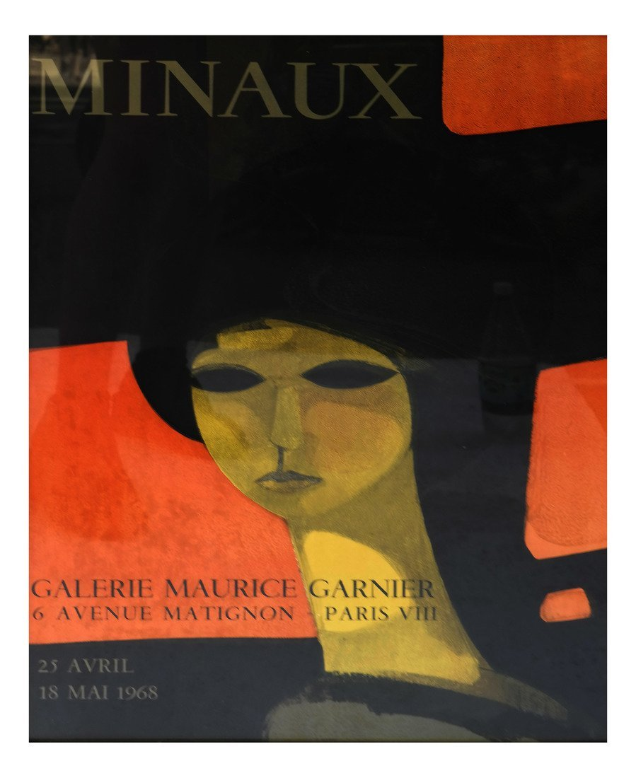 """Andre Minaux"" Exhibition Poster"