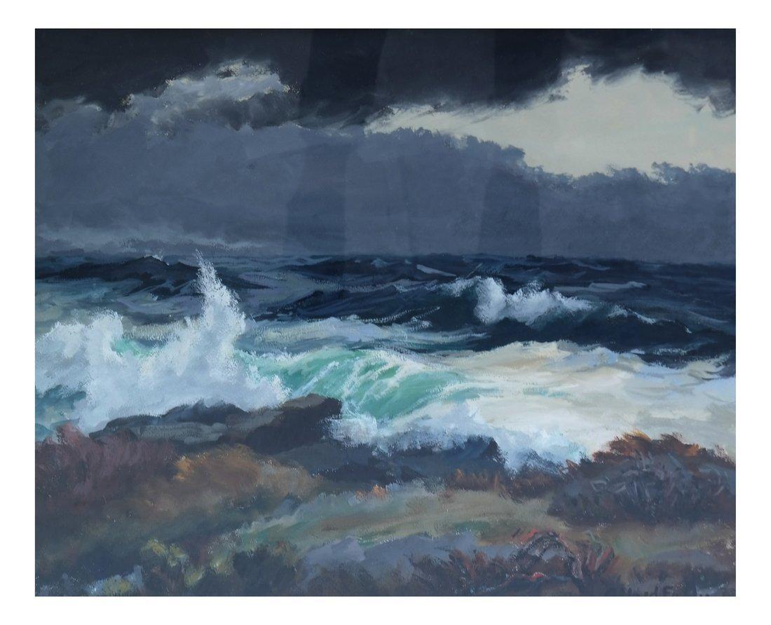 "Alfred Fuller ""Ocean Off Monhegan"""