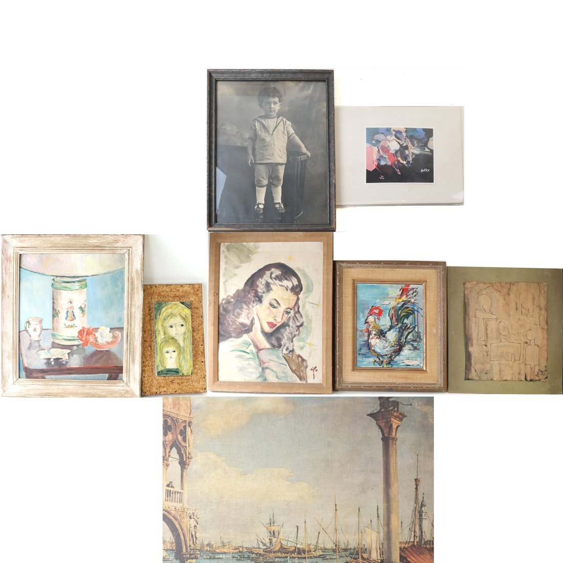 30Boxed Lot of Art