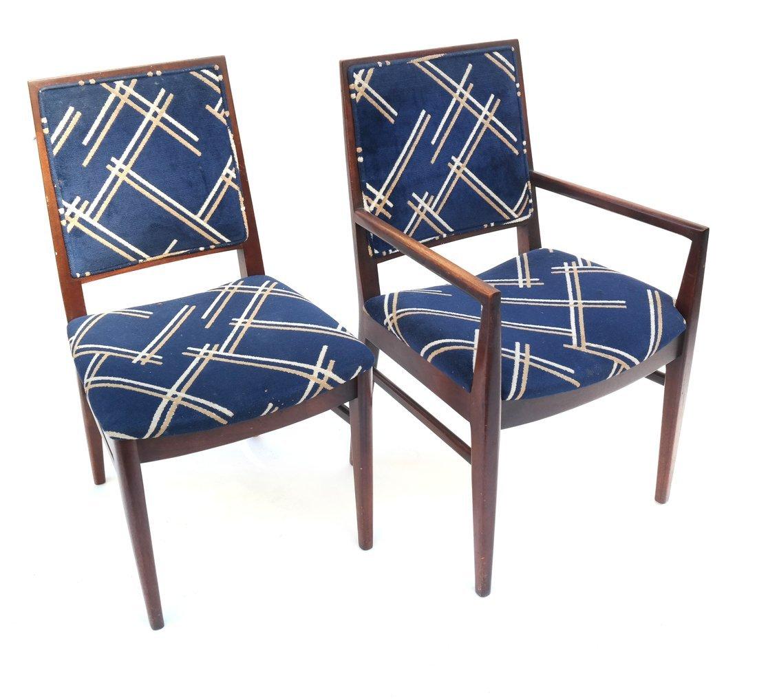 Six John Stewart Modern Dining Chairs - 3