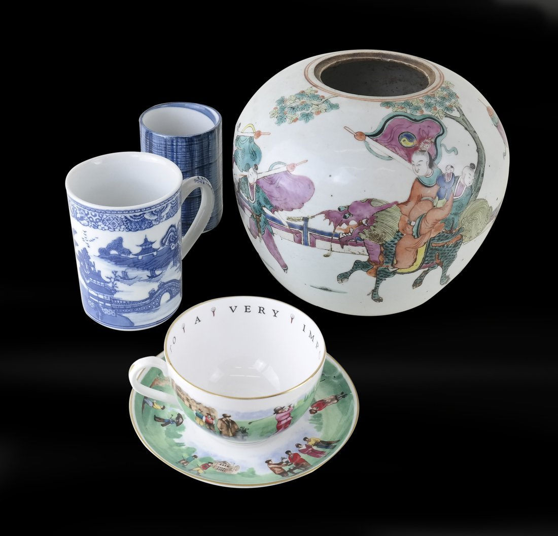 Four Ceramic Items