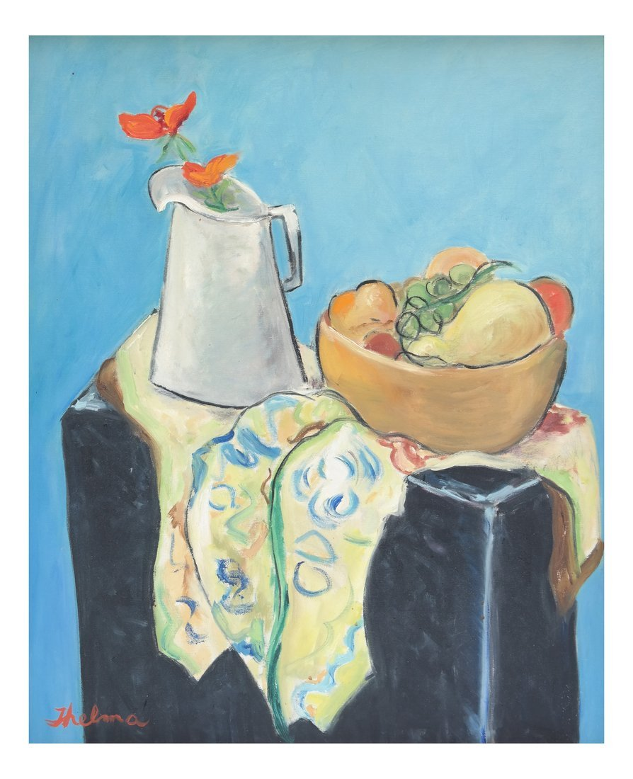 """Thelma"" Still Life, Oil on Canvas"