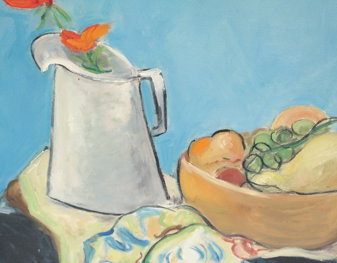 """Thelma"" Still Life, Oil on Canvas - 3"