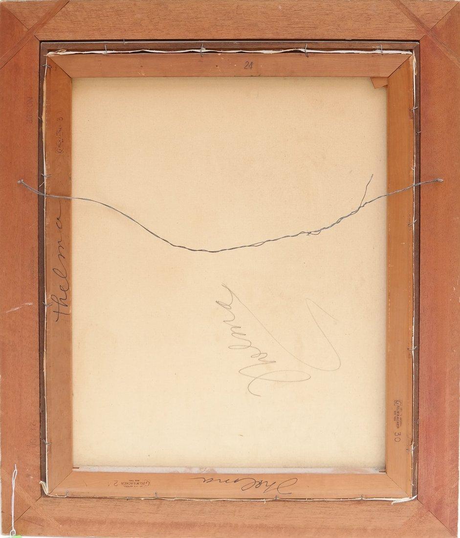 """""""Thelma"""" Still Life, Oil on Canvas - 6"""