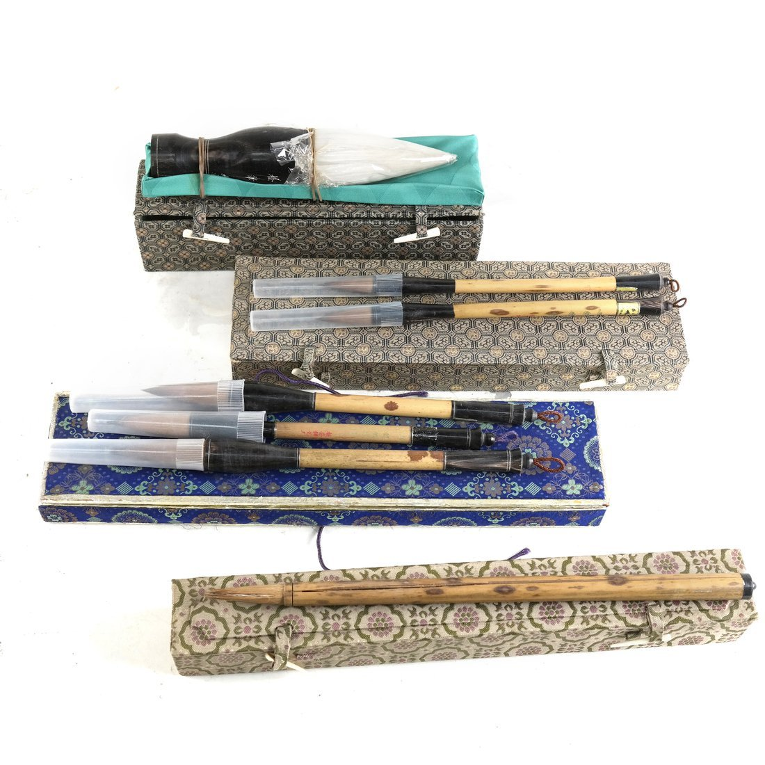 Seven Chinese Calligraphy Brushes