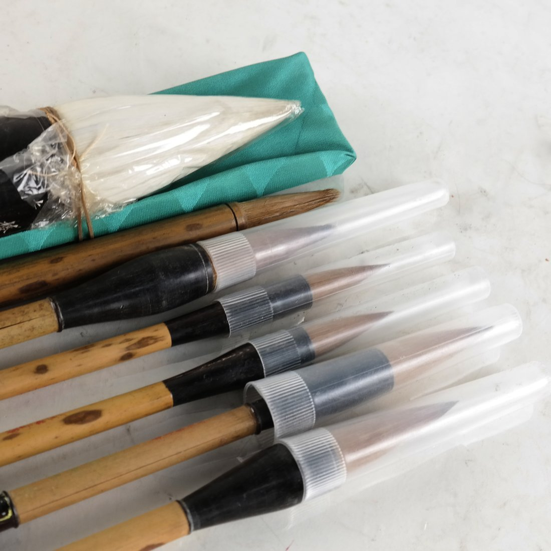 Seven Chinese Calligraphy Brushes - 3