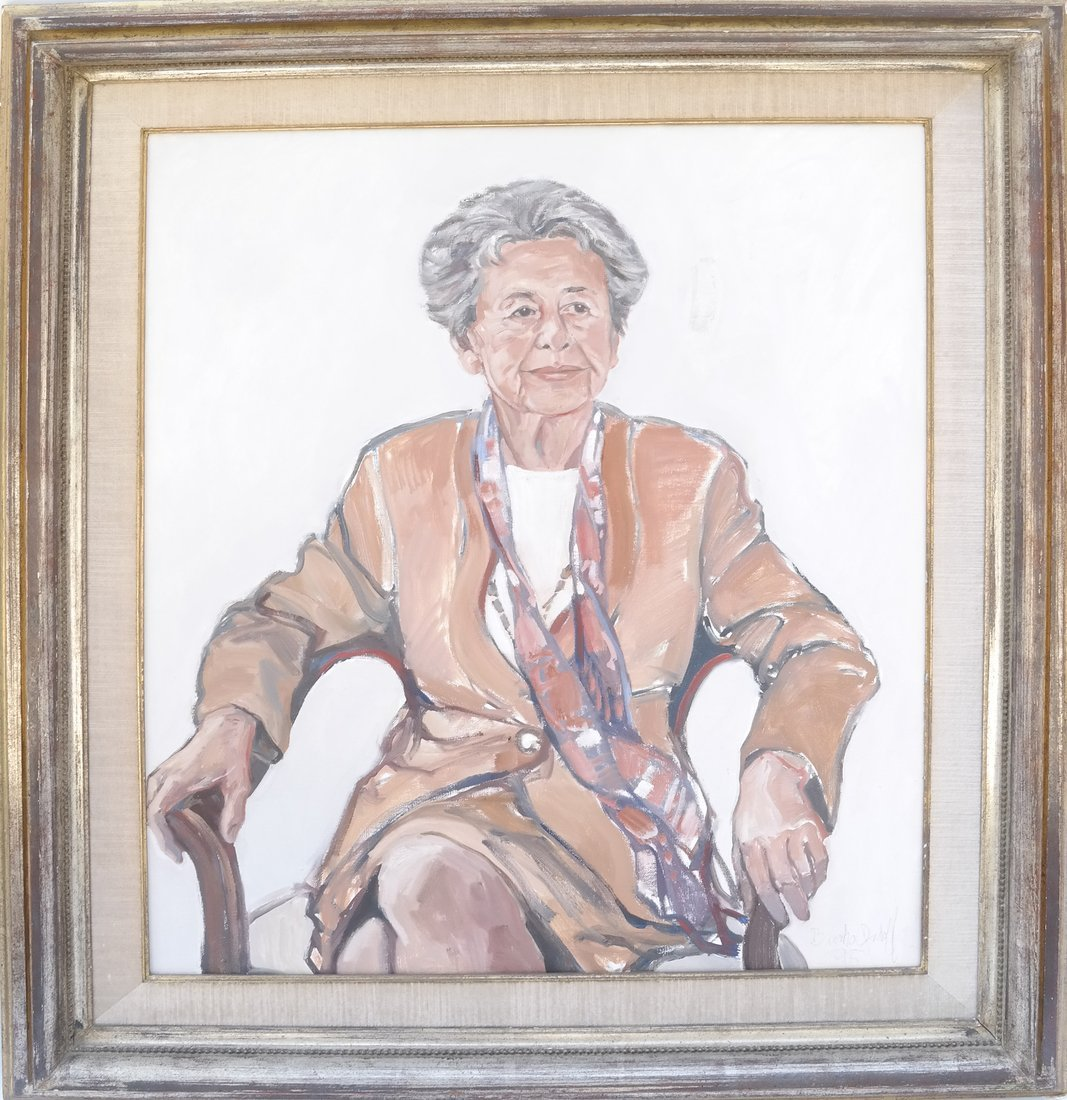 Portrait of a Lady, Oil on Canvas - 2
