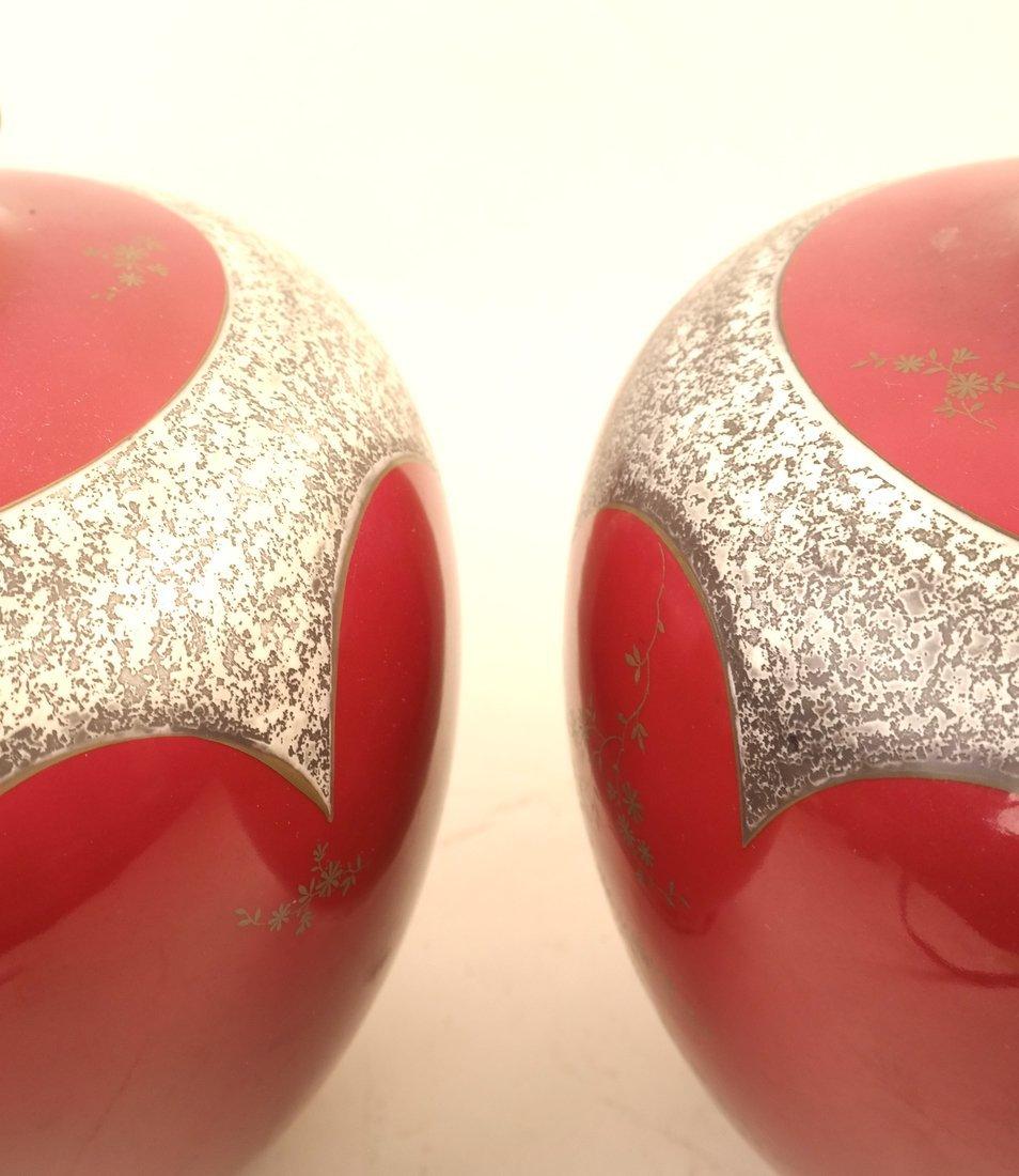 Pair of Koenigszelt Porcelain Vases - 3