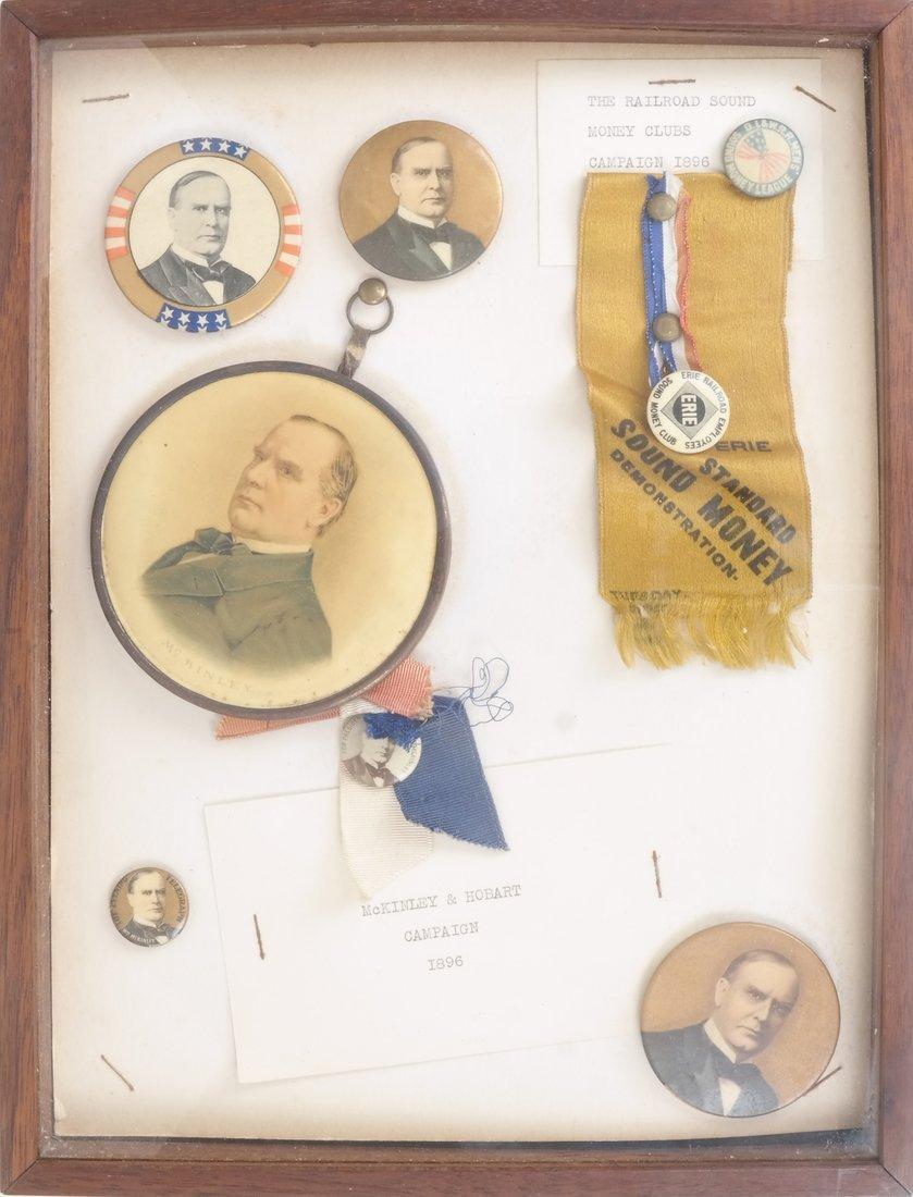 Monroe D.Ray Frame - William McKinley 1896