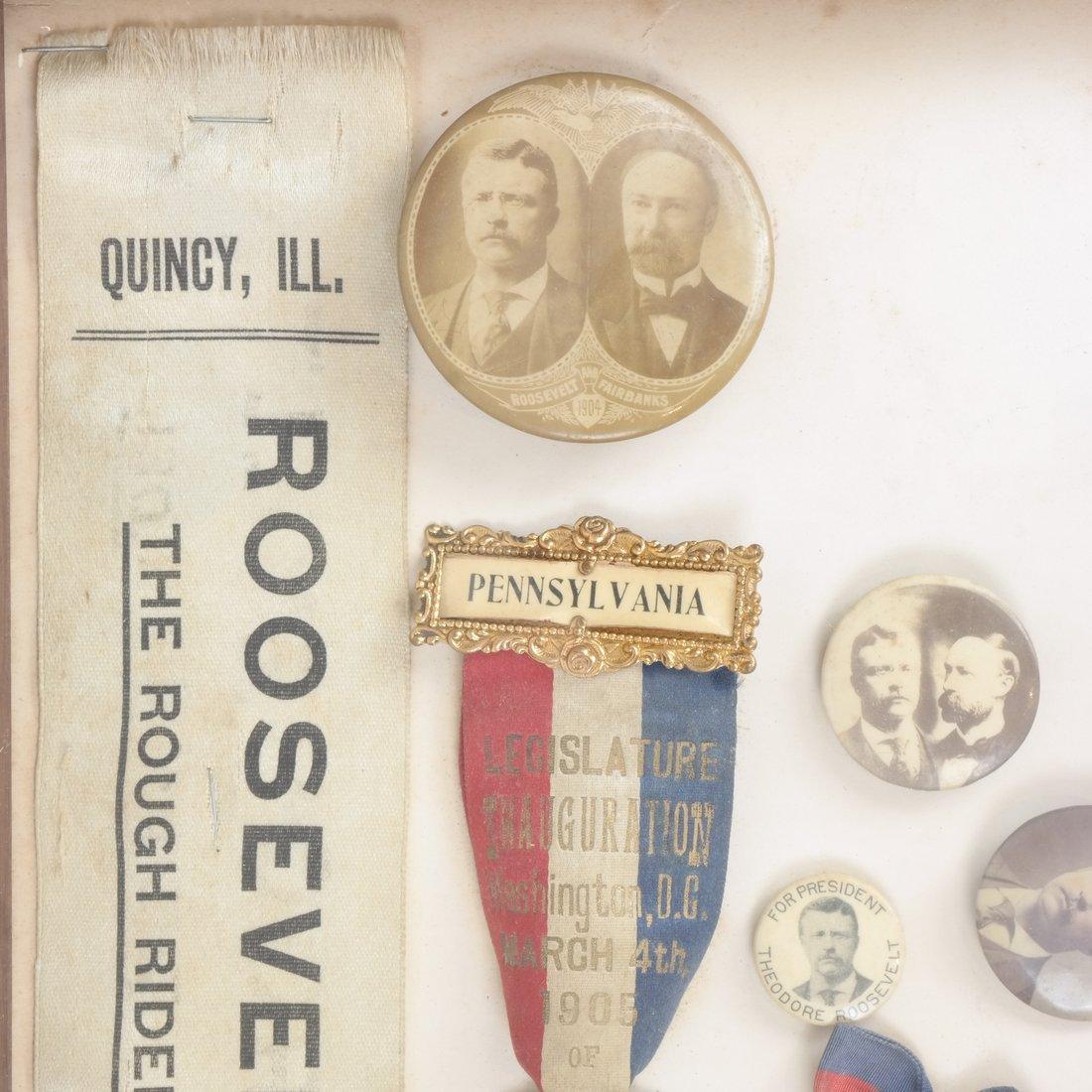 Monroe D. Ray Frame - T. Roosevelt & C.W. Fairbanks - 2