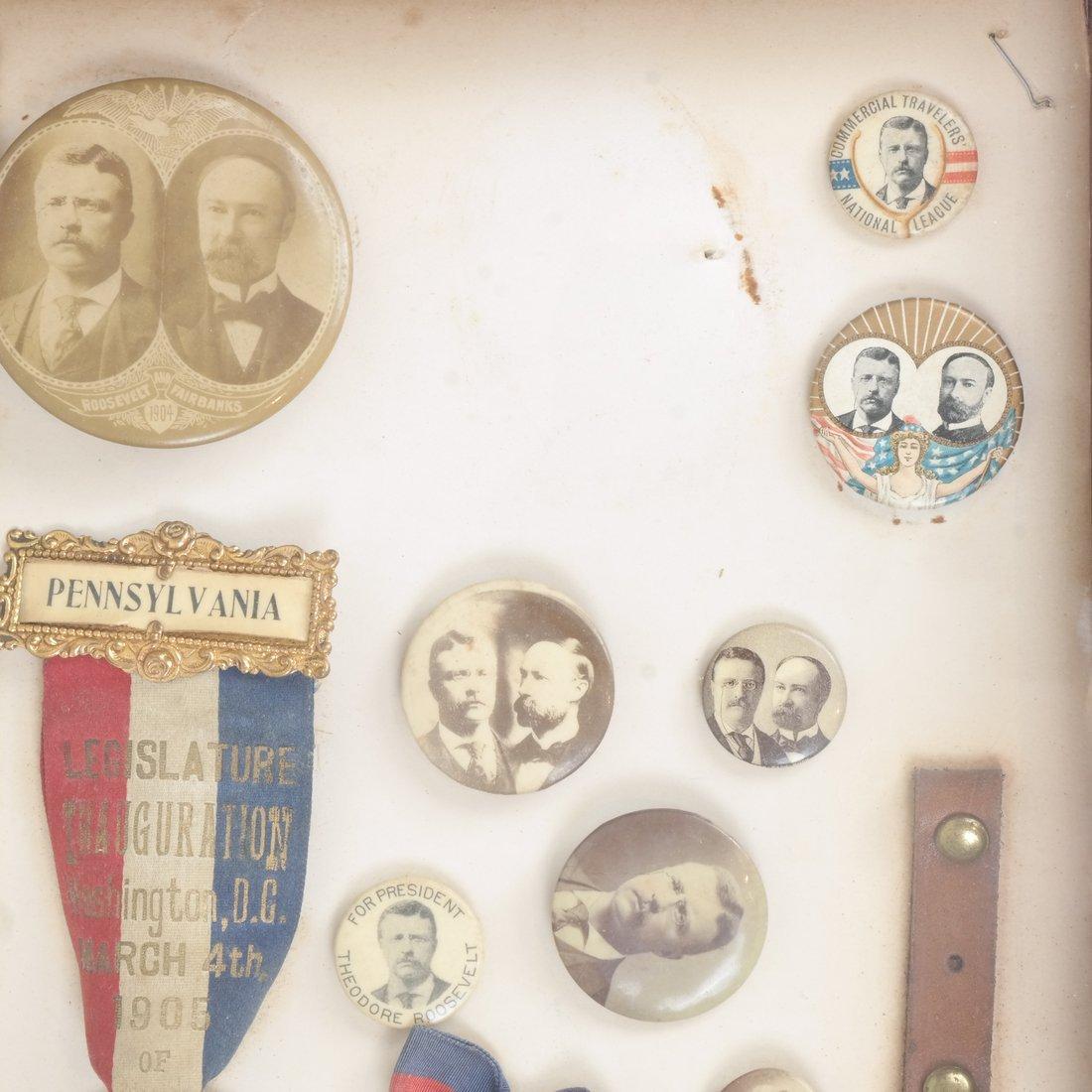 Monroe D. Ray Frame - T. Roosevelt & C.W. Fairbanks - 3