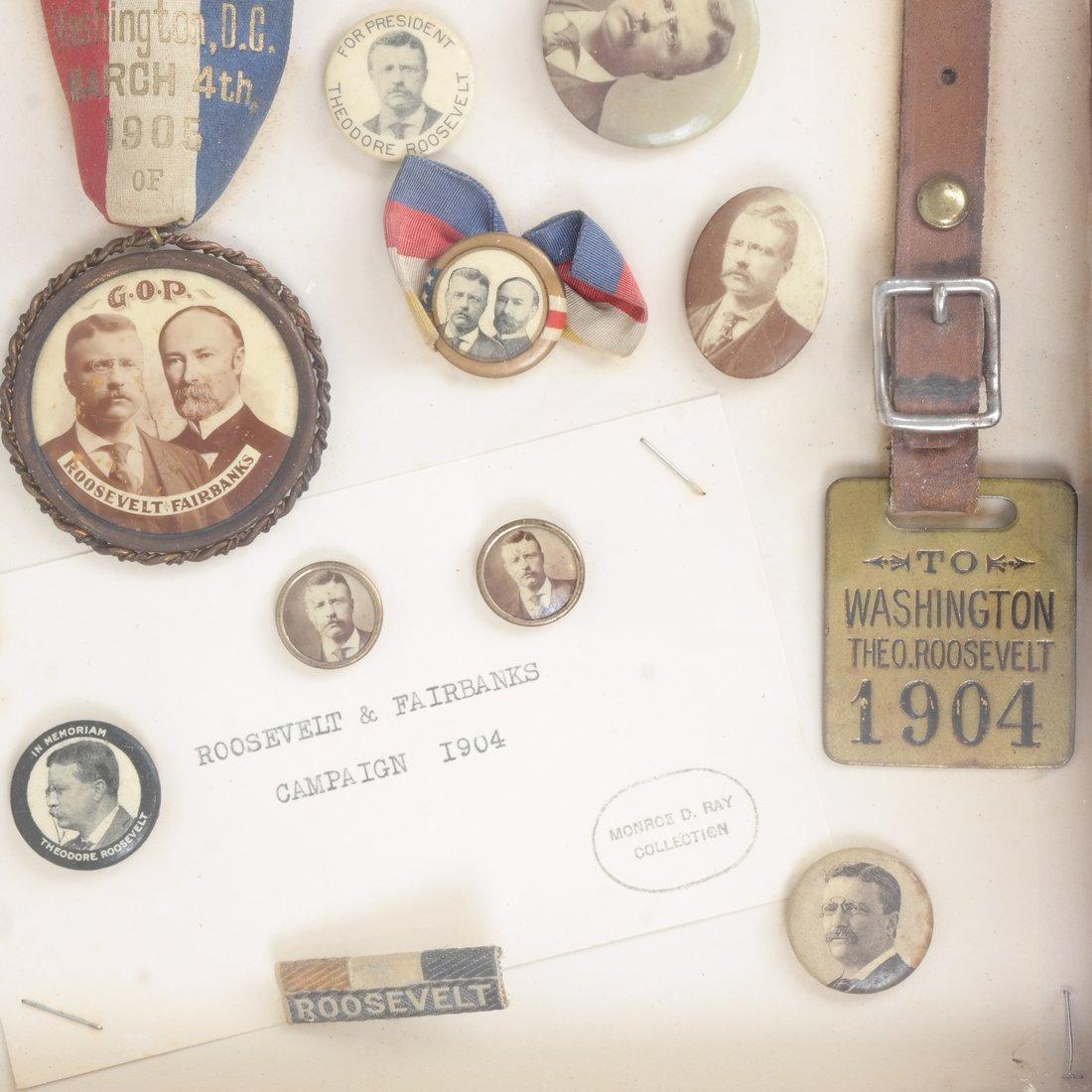 Monroe D. Ray Frame - T. Roosevelt & C.W. Fairbanks - 4