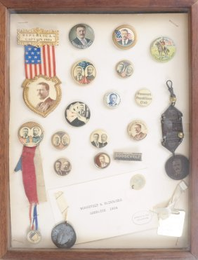Monroe D. Ray Frame - Theodore Roosevelt 1904