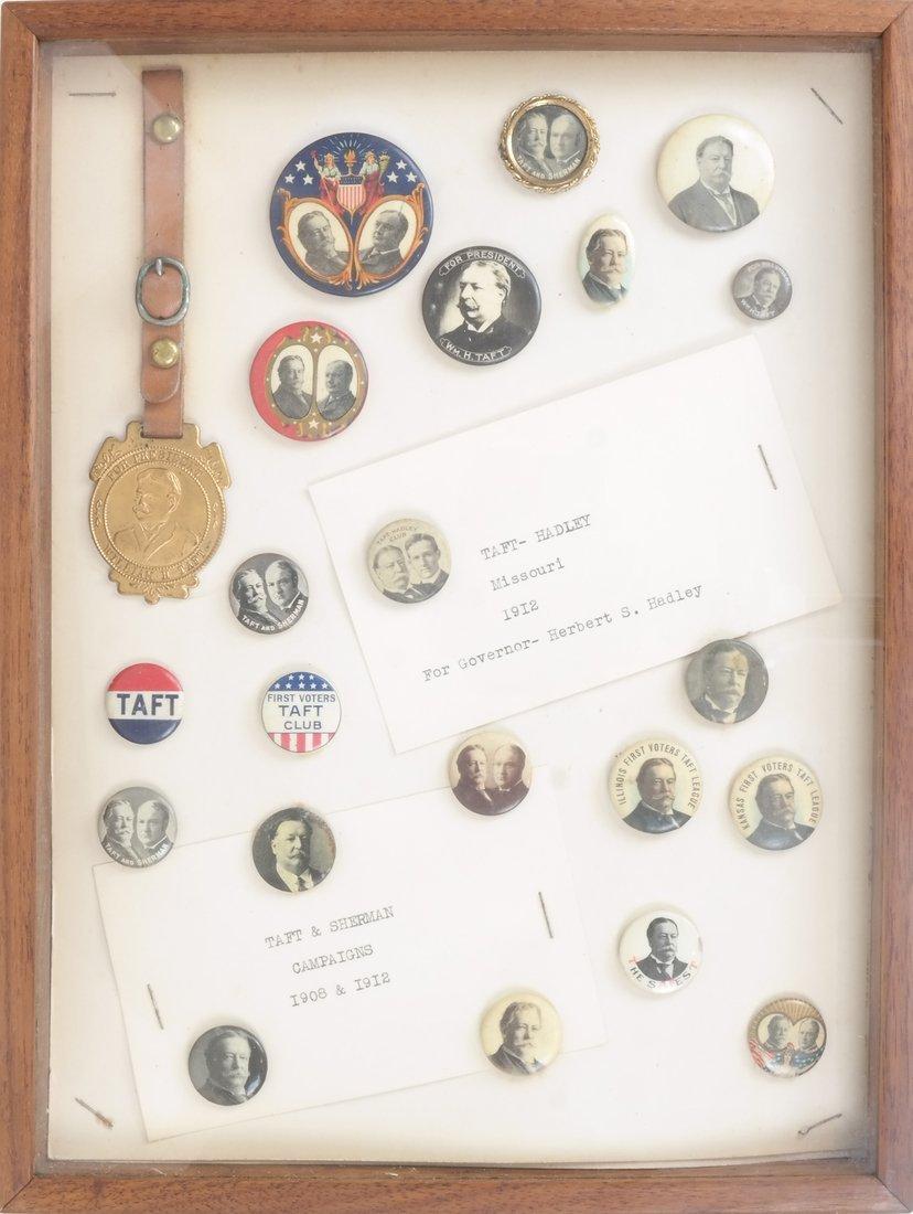 Monroe D. Ray Frame  - Taft & Hadley/Sherman 1908 &
