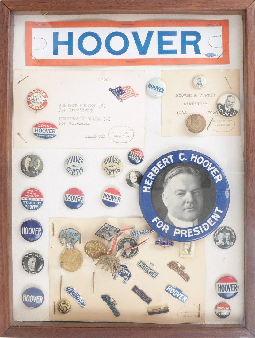 Monroe D. Ray Frame - Herbert Hoover 1928 & 1932