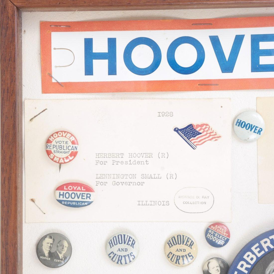Monroe D. Ray Frame - Herbert Hoover 1928 & 1932 - 2