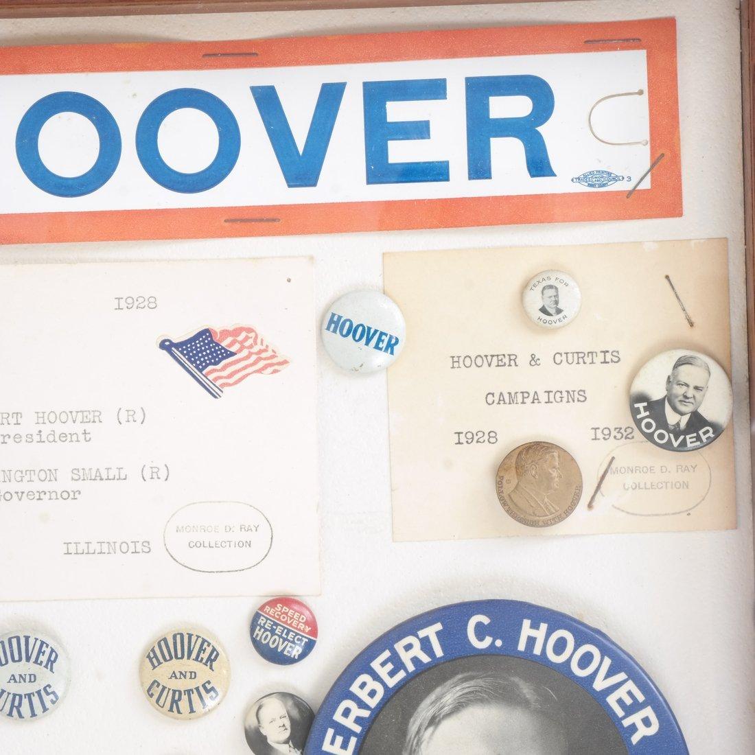 Monroe D. Ray Frame - Herbert Hoover 1928 & 1932 - 3