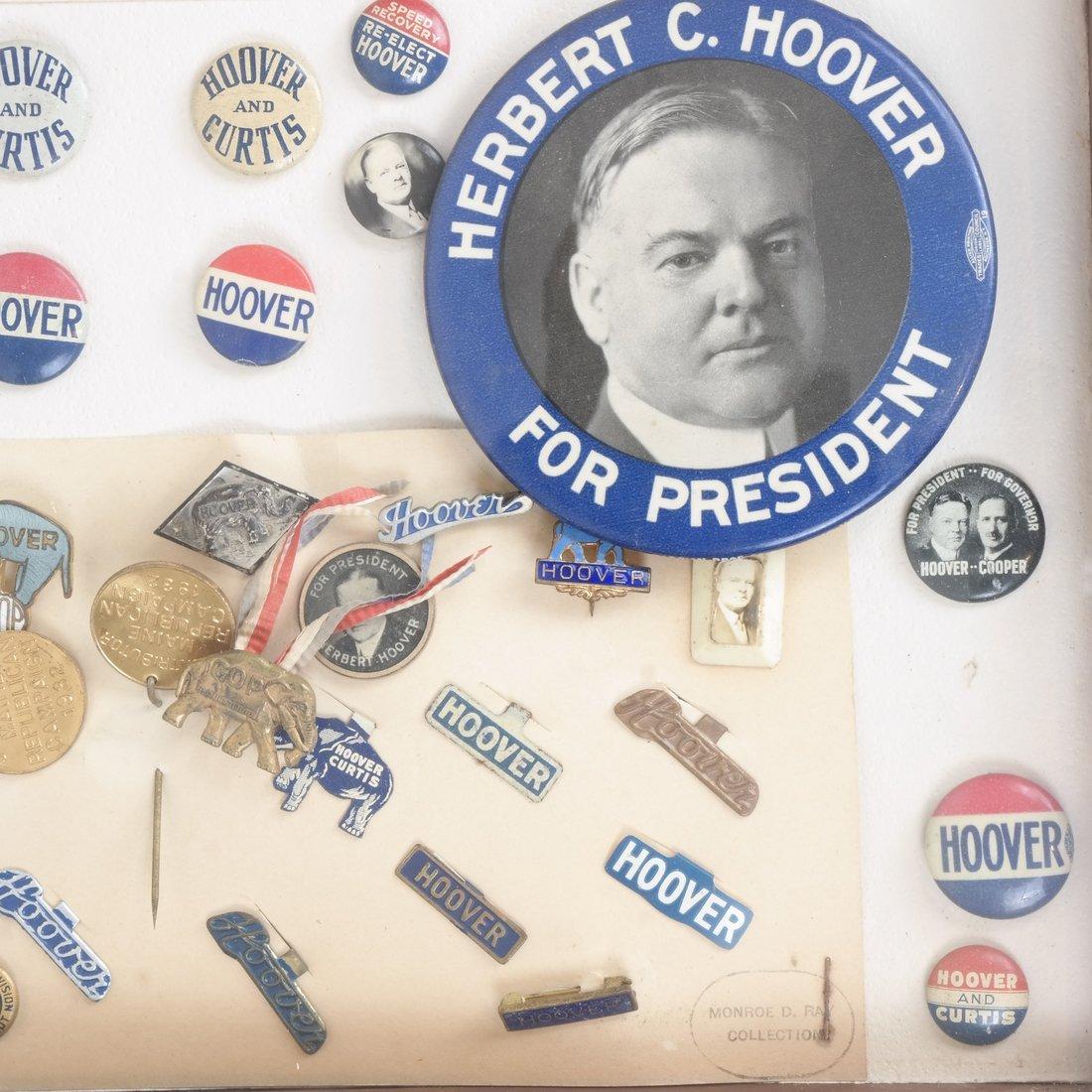 Monroe D. Ray Frame - Herbert Hoover 1928 & 1932 - 4
