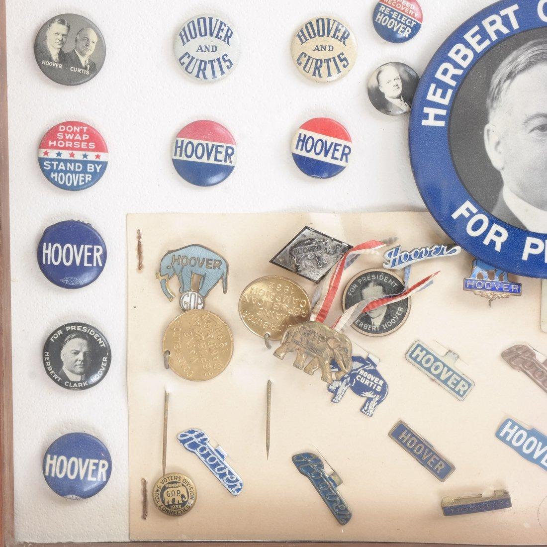 Monroe D. Ray Frame - Herbert Hoover 1928 & 1932 - 5