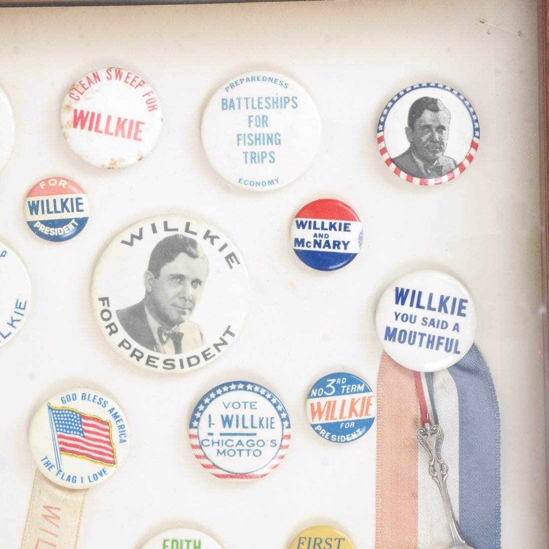 Monroe D. Ray Frame - Wendell Willkie 1940 - 3