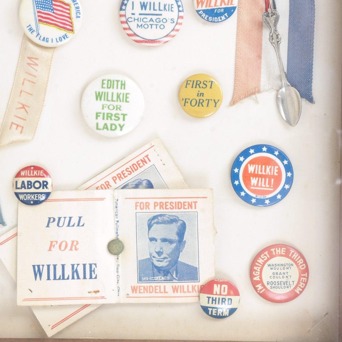 Monroe D. Ray Frame - Wendell Willkie 1940 - 4