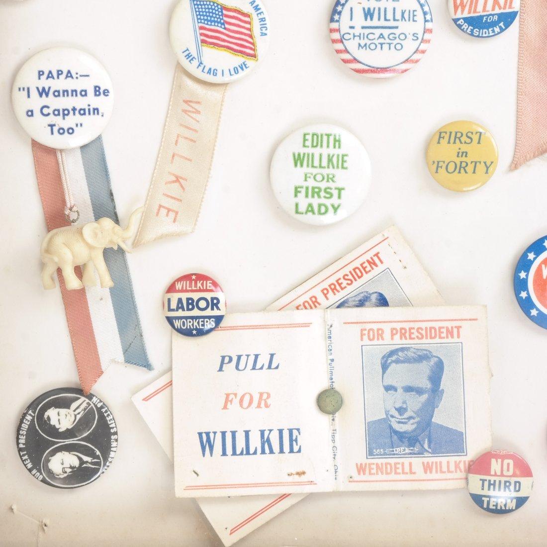 Monroe D. Ray Frame - Wendell Willkie 1940 - 5