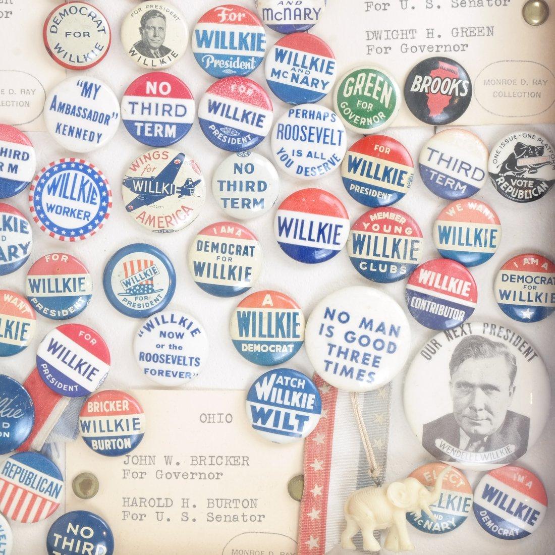 Monroe D. Ray Frame - Wendell Willkie 1940 & Anti-FDR - 4